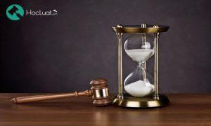 Điểm mới về thời hiệu tại Bộ luật dân sự 2015