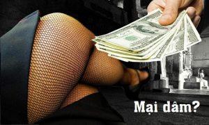 Bản chất của mại dâm