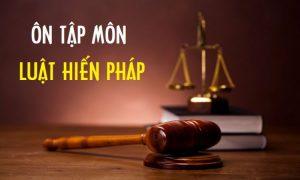 Tại sao phần lớn các QPPL luật hiến pháp không có phần chế tài?