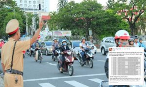 CSGT Đà Nẵng dùng MXH Facebook để thông báo phương tiện vi phạm