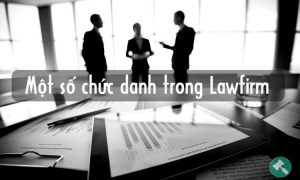 Một số chức danh trong Lawfirm