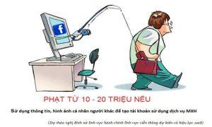 Những lưu ý cơ bản khi dùng facebook để tránh bị phạt