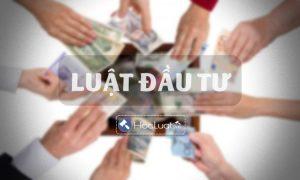 Luật Đầu tư