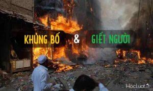 Phân biệt tội khủng bố nhằm chống chính quyền nhân dân và tội giết người