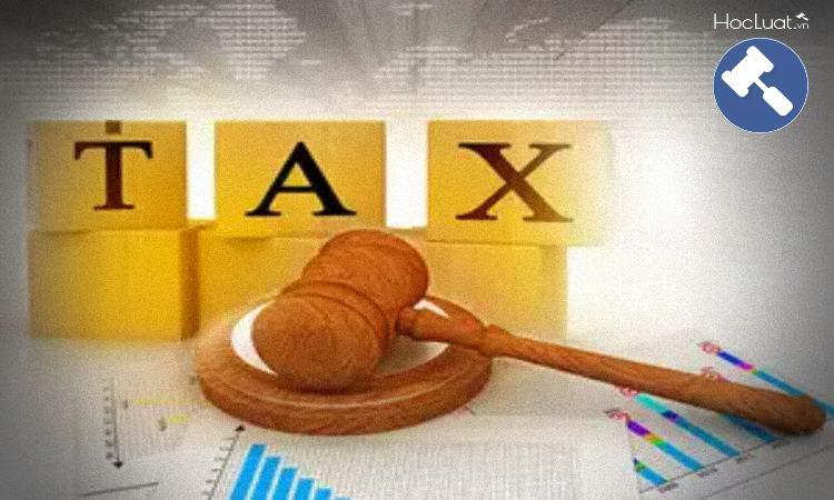 Tài liệu môn Luật thuế