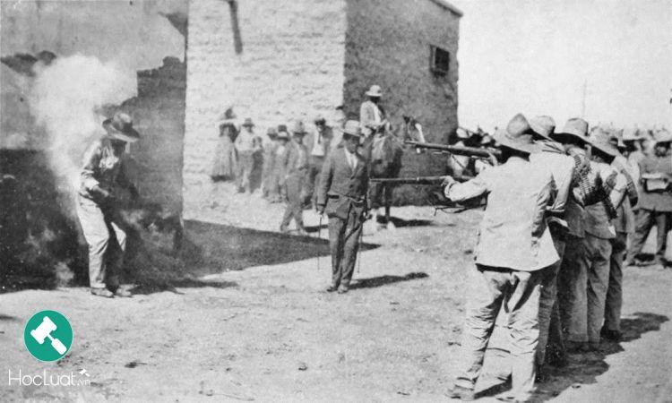 Thi hành án tử hình bằng hình thức xử bắn