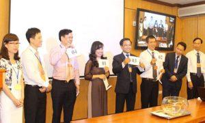 Các thí sinh thi tuyển chức danh lãnh đạo cấp vụ của Bộ Tư pháp năm 2015