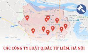 Các công ty luật tại quận Bắc Từ Liêm, TP. Hà Nội