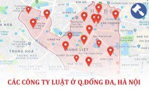 Các công ty luật tại quận Đống Đa, TP. Hà Nội