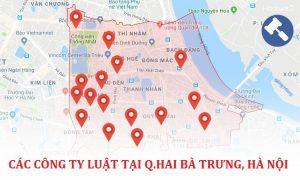 Các công ty luật tại quận Hai Bà Trưng, TP. Hà Nội