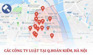Các công ty luật tại quận Hoàn Kiếm, TP. Hà Nội