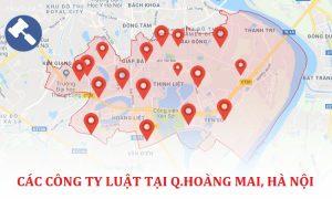 Danh sách các công ty luật, văn phòng luật sư tại quận Hoàng Mai, TP. Hà Nội