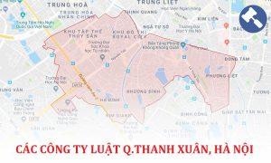 Các công ty luật tại quận Thanh Xuân , TP. Hà Nội