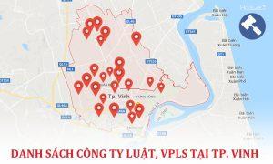 Danh sách các công ty luật, văn phòng luật sư tại TP. Vinh – Nghệ An