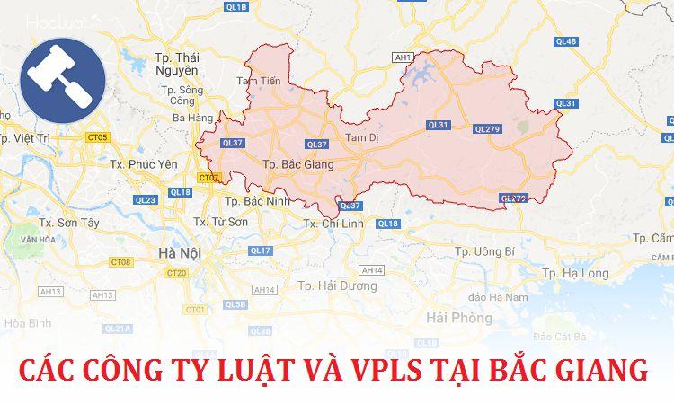 Các công ty luật, văn phòng luật sư tại Bắc Giang