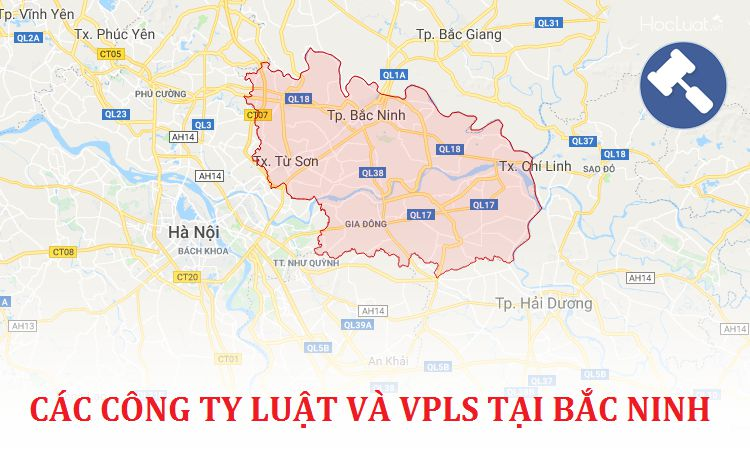 Các công ty luật, văn phòng luật sư tại Bắc Ninh