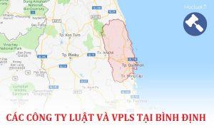 Các công ty luật, văn phòng luật sư tại Bình Định