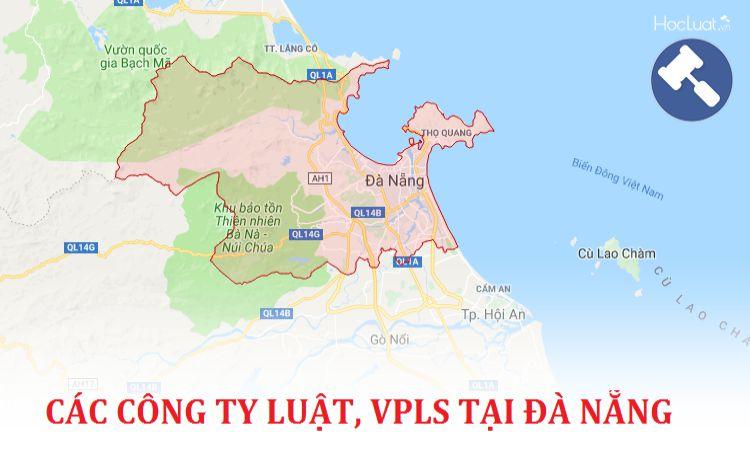 Các công ty luật, văn phòng luật sư tại Đà Nẵng