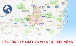 Các công ty luật, văn phòng luật sư tại Đắk Nông