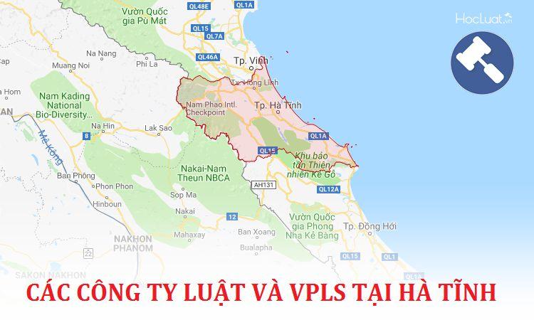Các công ty luật, văn phòng luật sư tại Hà Tĩnh
