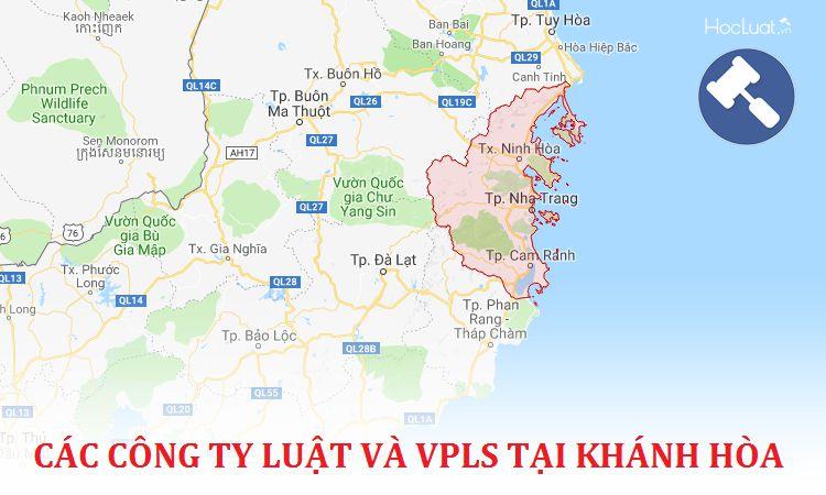 Các công ty luật, văn phòng luật sư tại Khánh Hòa