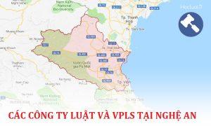 Danh sách các công ty luật, văn phòng luật sư tại Nghệ An