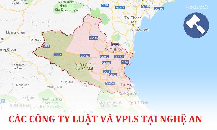 Các công ty luật, văn phòng luật sư tại Nghệ An