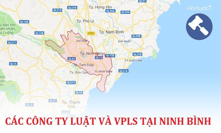 Các công ty luật, văn phòng luật sư tại Ninh Bình