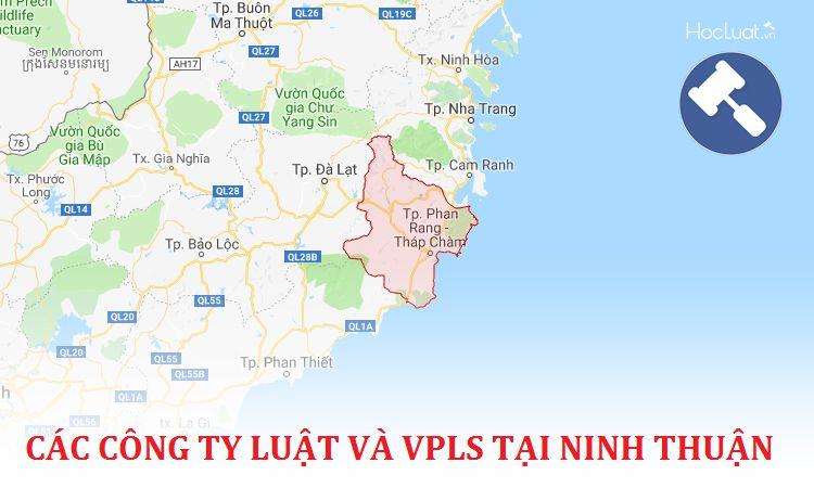 Các công ty luật, văn phòng luật sư tại Ninh Thuận