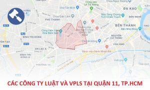 Danh sách các công ty luật, văn phòng luật sư tại Quận 11, TP. Hồ Chí Minh