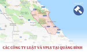 Danh sách các công ty luật, văn phòng luật sư tại Quảng Bình