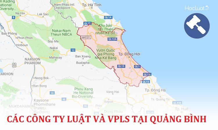 Các công ty luật, văn phòng luật sư tại Quảng Bình