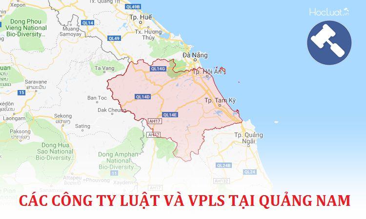 Các công ty luật, văn phòng luật sư tại Quảng Nam