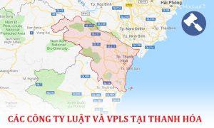 Danh sách các công ty luật, văn phòng luật sư tại Thanh Hoá