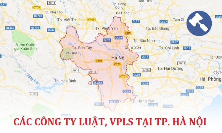 Các công ty luật, văn phòng luật sư tại TP. Hà Nội