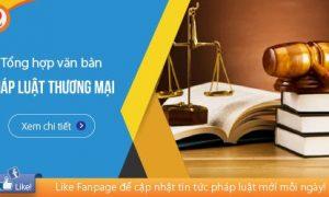 Hệ thống văn bản về Pháp luật thương mại