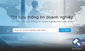 Website tra cứu thông tin doanh nghiệp