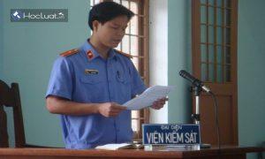 Kỹ năng của kiểm sát viên trong phần xét hỏi tại phiên tòa sơ thẩm vụ án hình sự