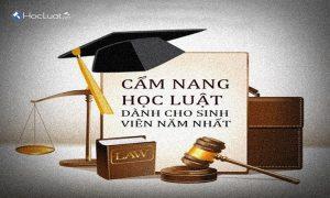 Cẩm nang học luật
