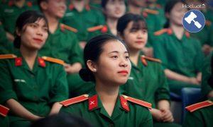 Trường quân đội tuyển thí sinh nữ