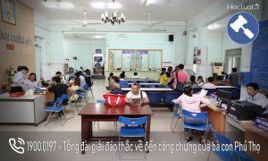 Danh sách các văn phòng công chứng tại Phú Thọ