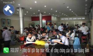 Văn phòng công chứng Quảng Bình