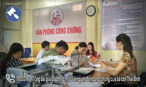 Văn phòng công chứng Thái Bình