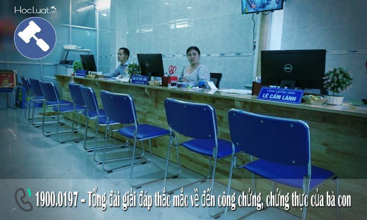 Danh sách các văn phòng công chứng tại TP.Hồ Chí Minh