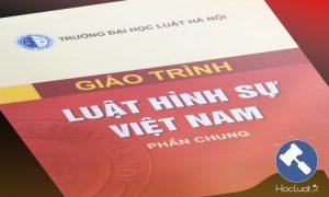 Download Ebook giáo trình Luật Hình sự Việt Nam – Đại học Luật Hà Nội