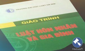 Giáo trình Luật Hôn nhân và gia đình Việt Nam - Đại học Luật Hà Nội