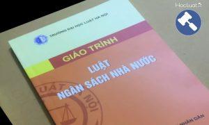 Giáo trình Luật Ngân sách nhà nước - Đại học Luật Hà Nội