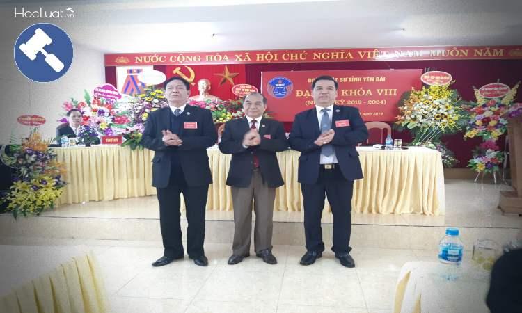 Ban Chủ nhiệm Đoàn luật sư Yên Bái nhiệm kỳ 2019 - 2024