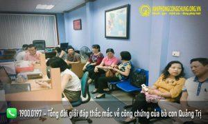 Danh sách văn phòng công chứng tại Quảng Trị